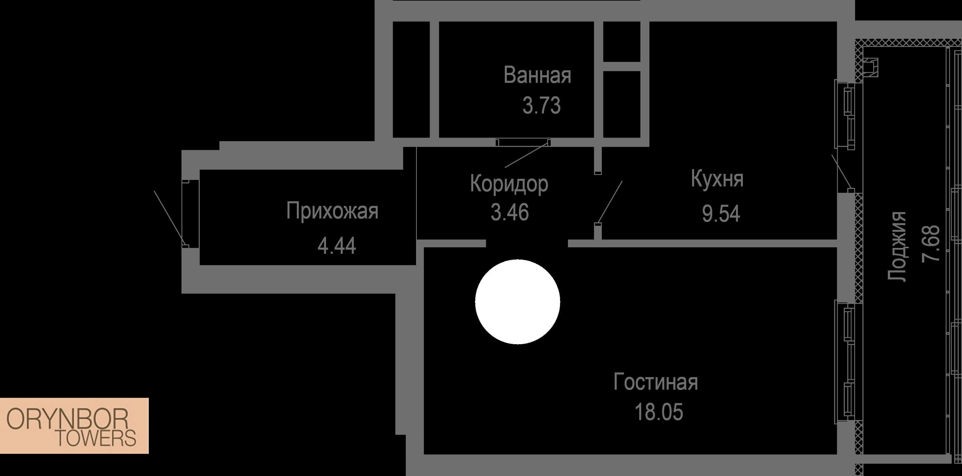 Блок 1-1, Пәтер 171